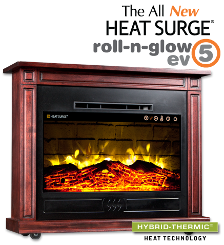 Heat Surge Electric Fireplaces