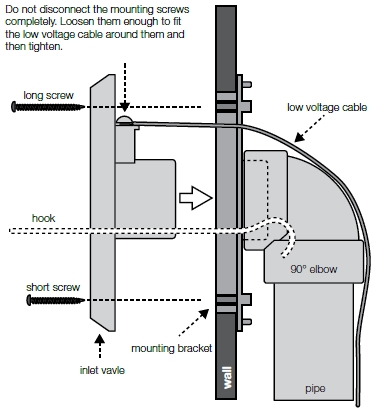 installing a central vacuum inlet valve